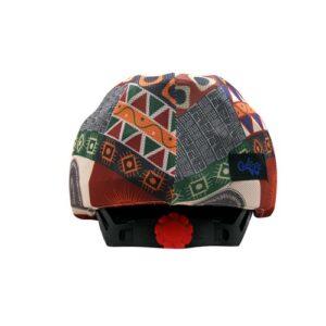 Funda casco Azteca Trasera