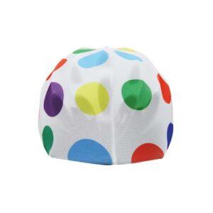 Funda casco Hippy Dots Frontal
