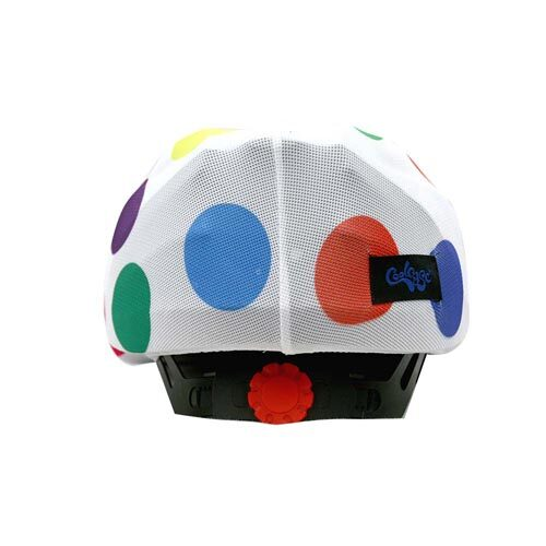 Funda casco Hippy Dots trasera