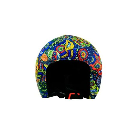 Funda casco Calaveras Maories frontal