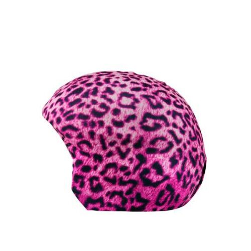 Funda casco pink leopard I