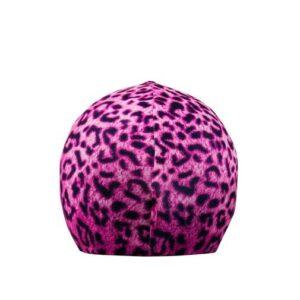 Funda casco pink leopard T