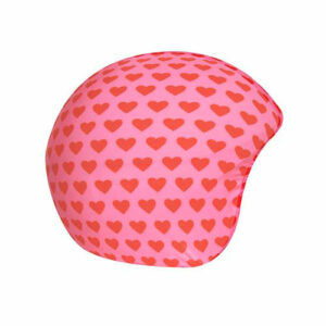 Funda casco Corazones rosa rojo