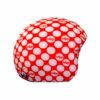 Funda casco Lunares Rojo