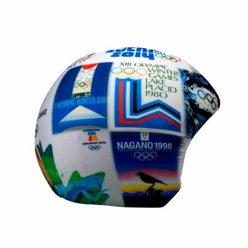 Funda casco Olimpiadas invierno