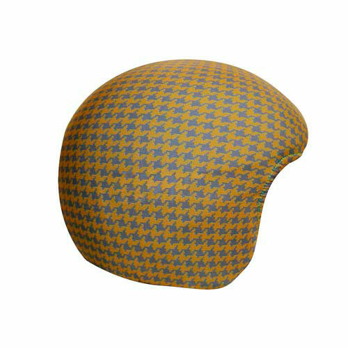 Funda casco Pata Gallo Marrón Gris