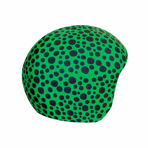 Funda casco Piedras Verde Negro
