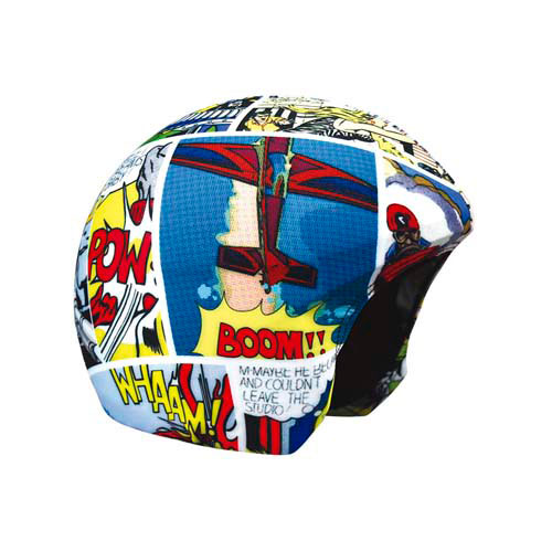 Funda casco cómic