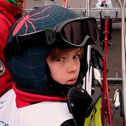 Funda casco Araña ski