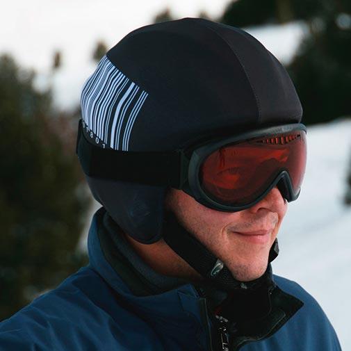 Funda casco Código de Barras ski
