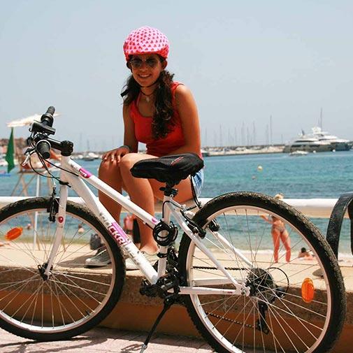 Funda casco Corazones Rosa Rojo Bike