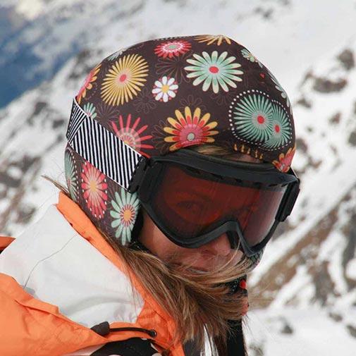 Funda casco Flores ski