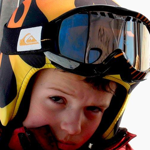 Funda casco Llamas ski
