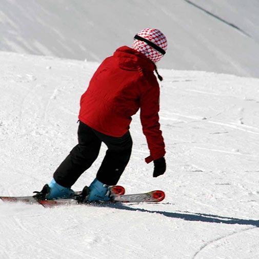 Funda casco Lunares Coolcasc Rojo ski