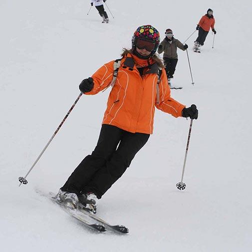 Funda casco Lunares colores ski