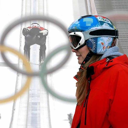 Funda casco Olimpiadas de Invierno