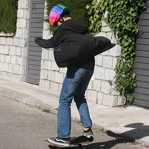 Funda casco Pantone Skate