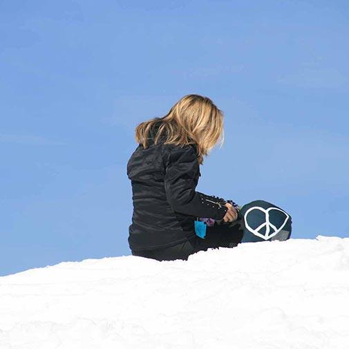 Funda casco Peace & Love ski