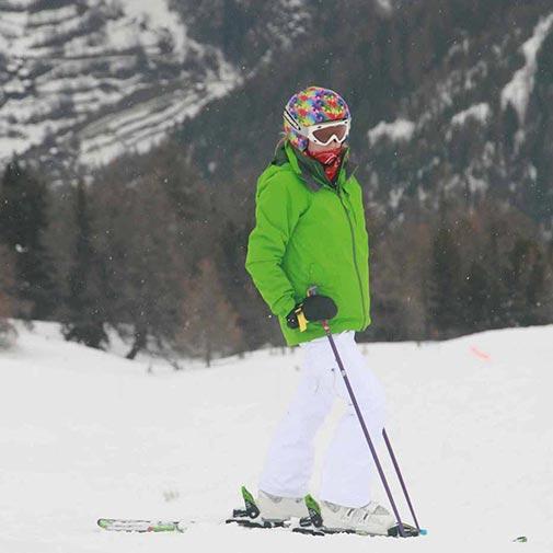 Funda casco Puzzle colores Ski