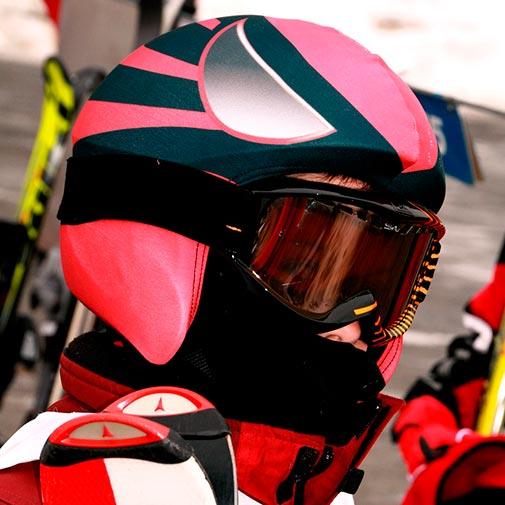Funda casco Super Héroe ski