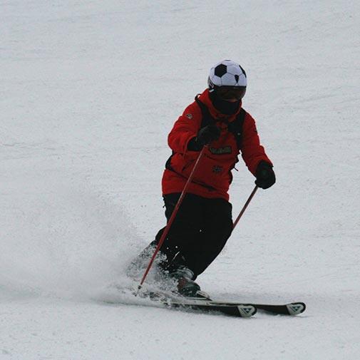 Funda casco futbol Ski