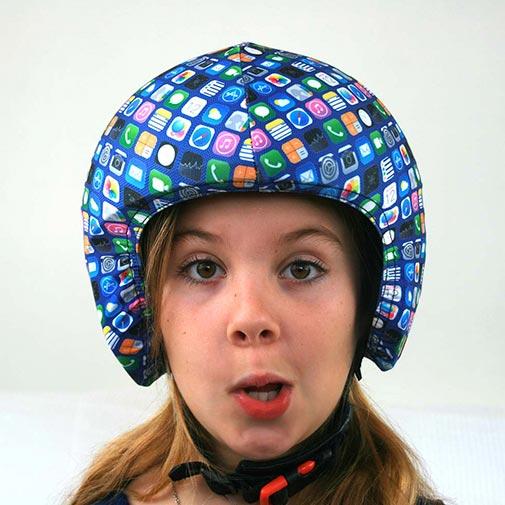 Funda casco móvil