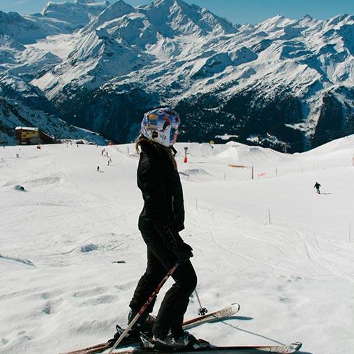 Funda casco vintage ski