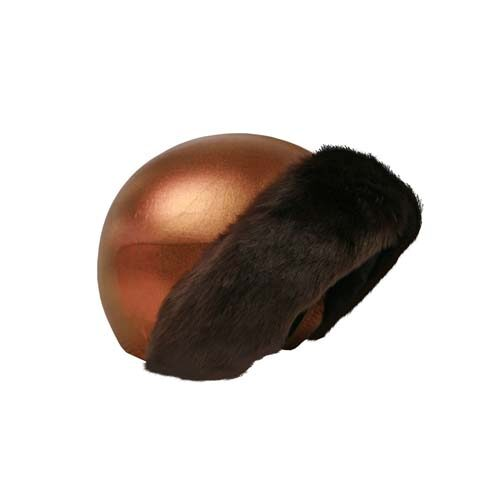 Funda casco Bronce Piel Marrón Tercio