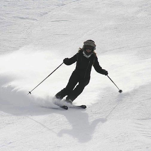 Funda casco Piel Marrón esquí descenso