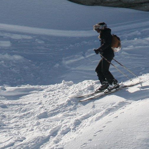 Funda casco Piel Marrón esquí