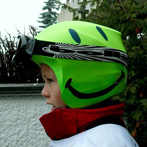 Funda casco Foggy Smile niño