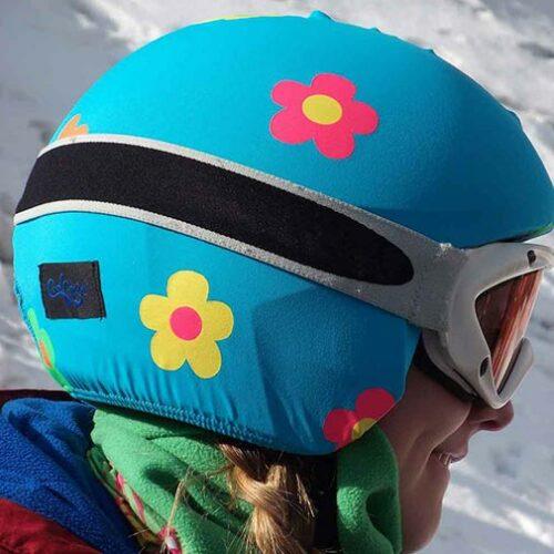 Funda casco Foggy margaritas Esquí