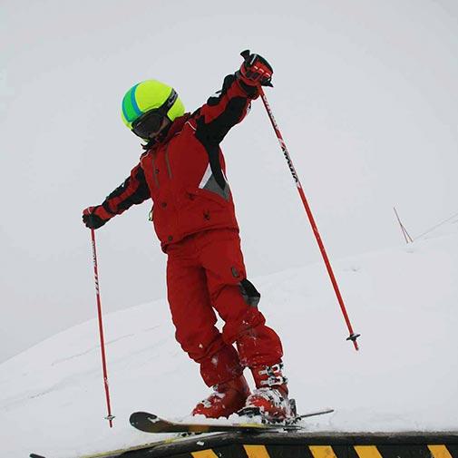 Funda casco Foggy rayas ski salto