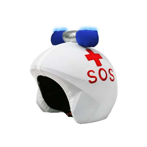 Funda casco Led Ambulancia