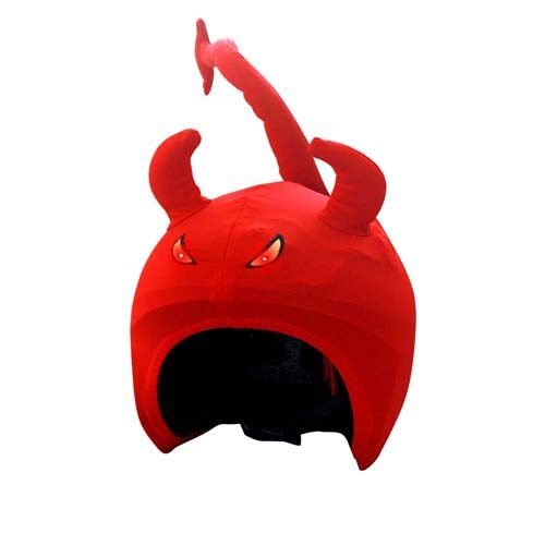 Funda casco Led Demonio