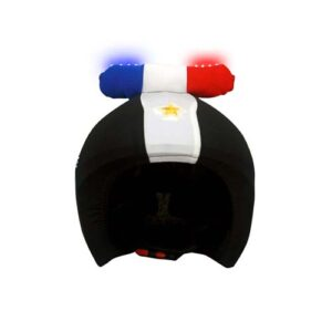 Funda casco Led Policía Frontal