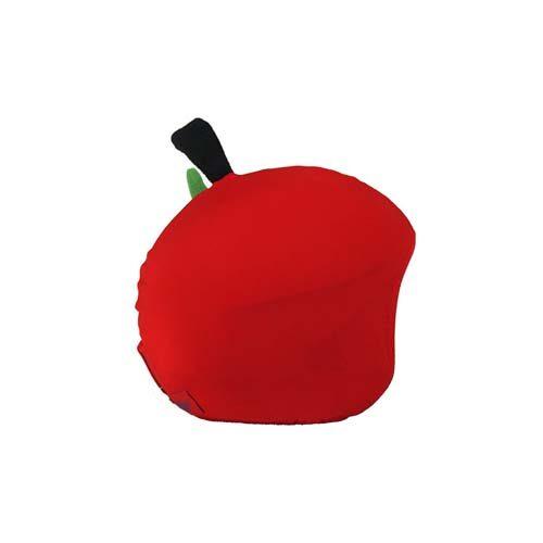 Funda casco Manzana con gusano Derecha
