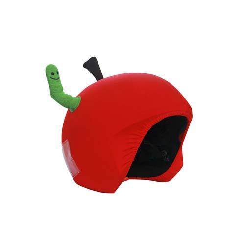 Funda casco Manzana con gusano tercio
