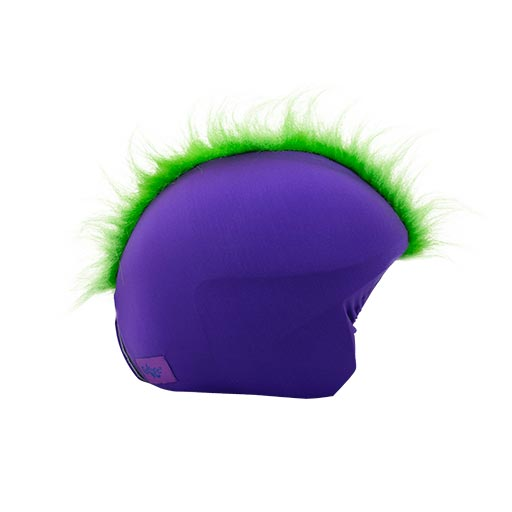 Funda casco Mohicana verde derecha