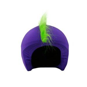 Funda casco Mohicana verde frontal