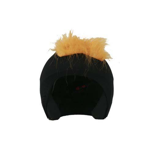 Funda casco Pelos Naranja Frontal