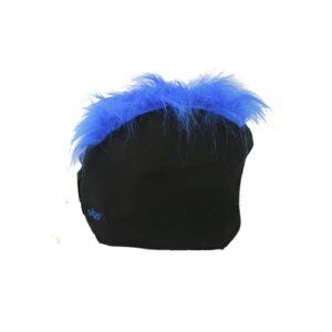 Funda casco Pelos azul Derecha