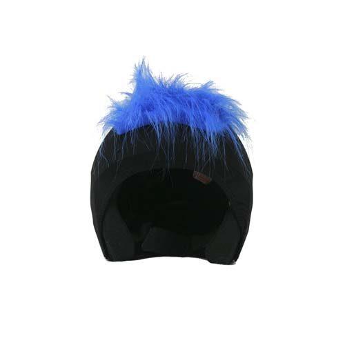 Funda casco Pelos azul Frontal