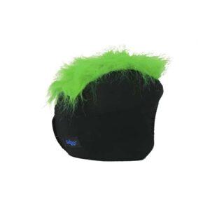 Funda casco Pelos verde Derecha