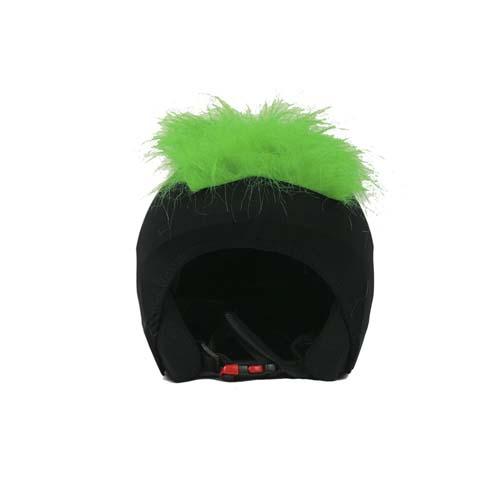Funda casco Pelos verde Frontal