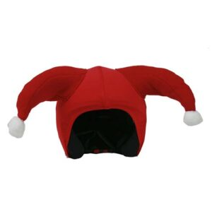Funda casco Santa Claus Frontal