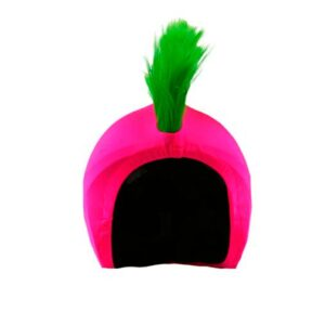 Funda casco punk rosa F