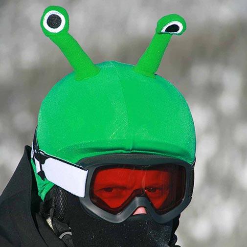 Funda casco Alien ojos