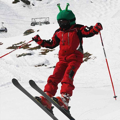 Funda casco Alien ski