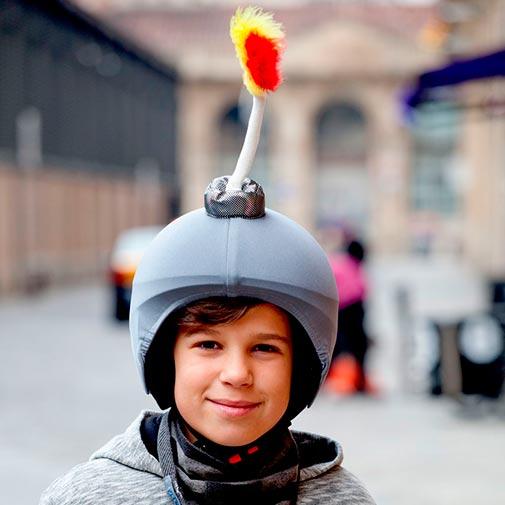 Funda casco Bomba niño
